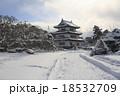 弘前城 冬 城の写真 18532709