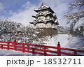 弘前城 冬 城の写真 18532711