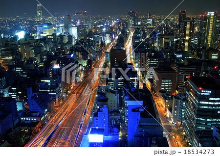 大阪 夜景 18534273