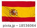 Flag of Spain 18536064