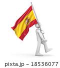 Flag of Spain 18536077