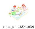 子供 人物 お絵かきのイラスト 18541039