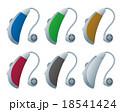 補聴器イラスト 18541424