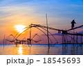 漁師 影 川の写真 18545693
