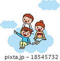 子供 小学生 夢のイラスト 18545732