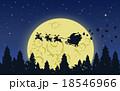 大きい 大型 月のイラスト 18546966