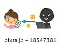 スマホのウイルス感染【二頭身・シリーズ】 18547381