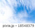 巻積雲 うろこ雲 いわし雲の写真 18548379