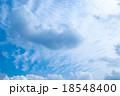 層積雲 巻積雲 うろこ雲の写真 18548400