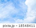 巻積雲 うろこ雲 いわし雲の写真 18548411