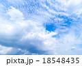 層積雲 巻積雲 うろこ雲の写真 18548435