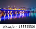 Han River and Bridge in Seoul 18556680