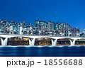 Seoul cityscape at night 18556688