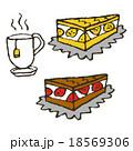 ケーキと紅茶 18569306