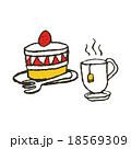 ショートケーキ 18569309