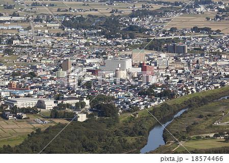 秋田県大仙市 大曲駅前中心市街地(2013年10月撮影) 18574466