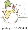 雪だるま 18595434