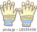 手袋 18595436