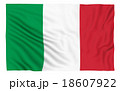 Flag of Italy 18607922