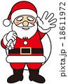 サンタ サンタクロース クリスマスのイラスト 18611972