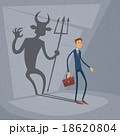 デビル 邪鬼 悪魔のイラスト 18620804
