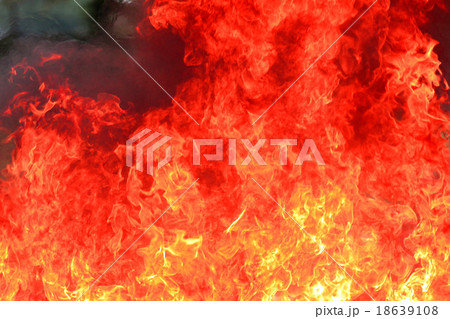 Flame burning and so hot. 18639108