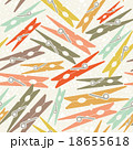 Clothespin retro seamless pattern color background 18655618