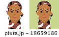 黒人女性のイラスト 18659186