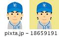 野球の選手のイラスト 18659191