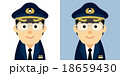 パイロットのイラスト 18659430