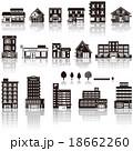 建物アイコン / シルエット 18662260