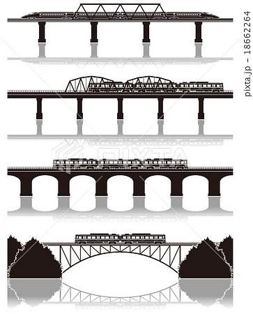 鉄道 / シルエット 18662264