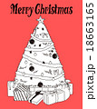 クリスマスツリー 18663165