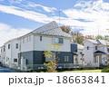 新しい町の家並み 18663841