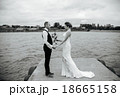 couple on pier 18665158