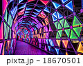 東京ドームシティ イルミネーション ルミナストンネルの写真 18670501