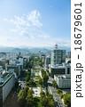 街並み 札幌 眺めの写真 18679601