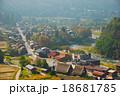 丘の上から眺めた「白川郷集落」(岐阜県大野郡白川村荻町) 18681785