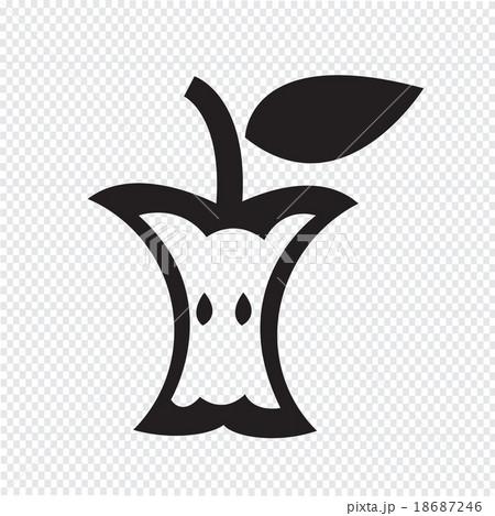 Apple iconのイラスト素材 [18687246] - PIXTA