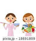 女性栄養士 18691809