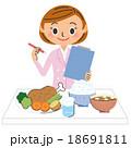 女性栄養士 18691811
