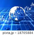 株価 株式市場 金融のイラスト 18705884