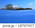 小岩井 風景 山の写真 18707457