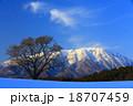 小岩井 雪山 風景の写真 18707459
