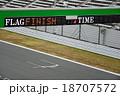 ゴール/ finish 18707572
