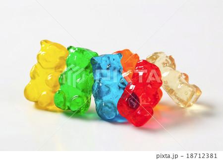 Gummy bearsの写真素材 [18712381] - PIXTA