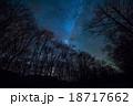 星空 林道 夜の写真 18717662