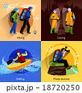 Tourism Icons Set 18720250