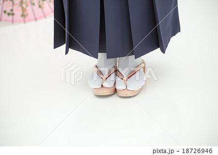 Japanese culture Graduation ceremoniesの写真素材 [18726946] - PIXTA