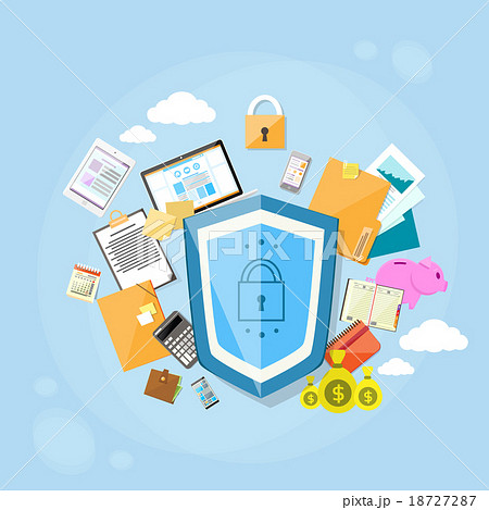 Shield Safe Data Protection Concept Privacy 18727287